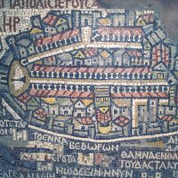 Jordanien, Madaba, Mosaik (Foto: Rainer Skrovny / ARR Reisen)