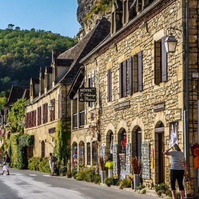 Frankreich, Perigord, La Roque-Gageac