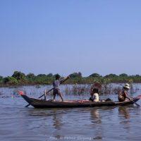 Kambodscha, Bootsfahrt am Tonle Sap  (Foto: Rainer Skrovny, ARR Reisen)