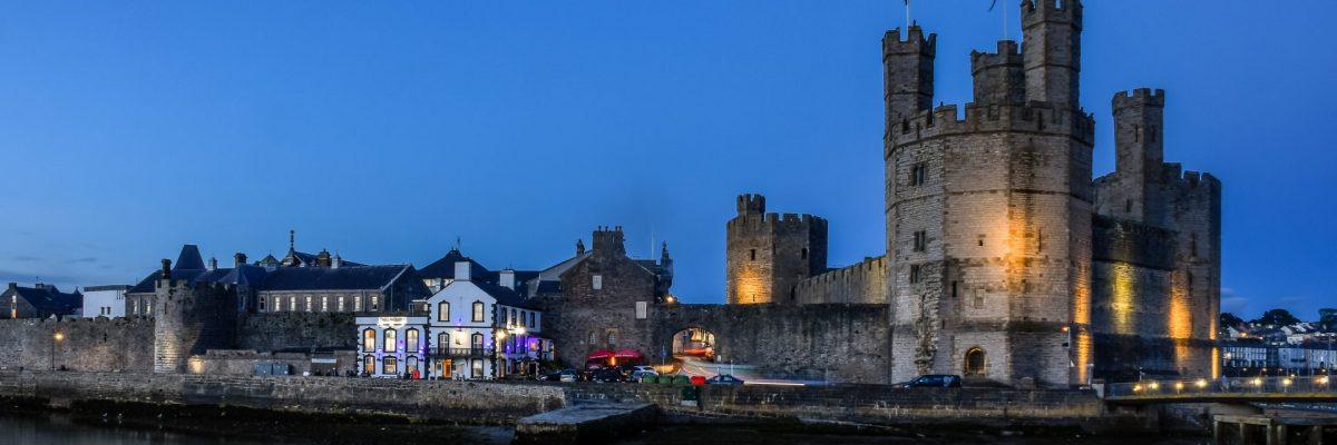 Wales, Caernarfon Castle (Foto: Rainer Skrovny, ARR Reisen)
