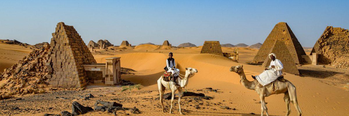 Sudan, Pyramiden von Meroe (Foto: Rainer Skrovny, ARR Reisen)