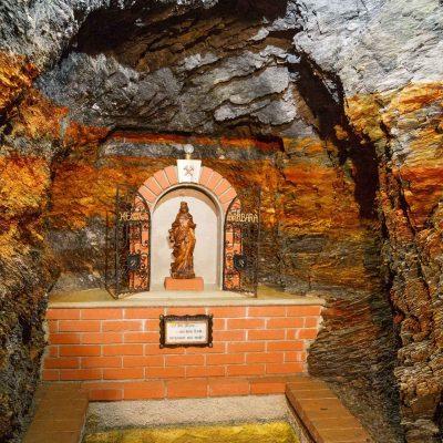 Thaddäusstollen Barbarakapelle (Foto: kreativwerk.at)