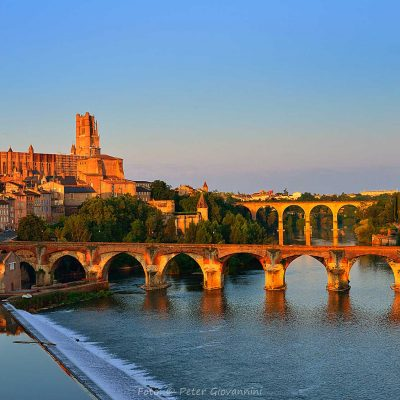 Frankreich, Albi Kahedrale, Fluss Tarn (Foto: Peter Giovannini)
