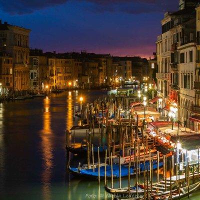 Italien, Venedig, Blick von Rialto-Brücke (Foto: Nicola Lederer)