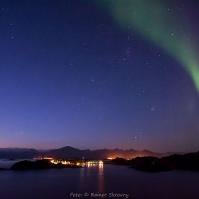 Norwegen, Insel Senja, Nordlicht (Foto: Rainer Skrovny, ARR Reisen)