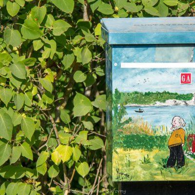Schweden, Gotland, Briefkasten (Foto: Christine Emberger, ARR Reisen)