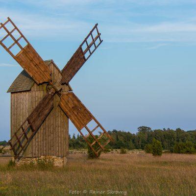 Schweden, Gotland, Windmühle (Foto: Rainer Skrovny, ARR Reisen)