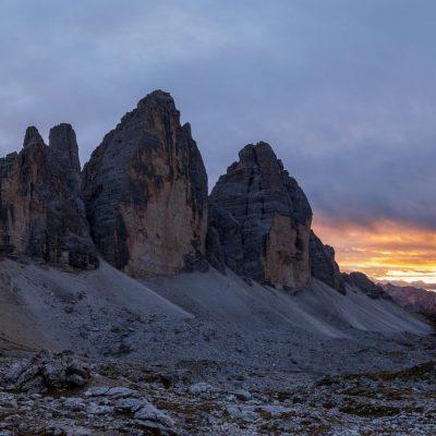 Südtirol, Drei Zinnen (Foto: Karl Füsselberger)