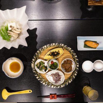 JAPAN / Honshu / Nagano / Shibu-onsen / Suminoyu Ryokan / Traditional japanese dinner