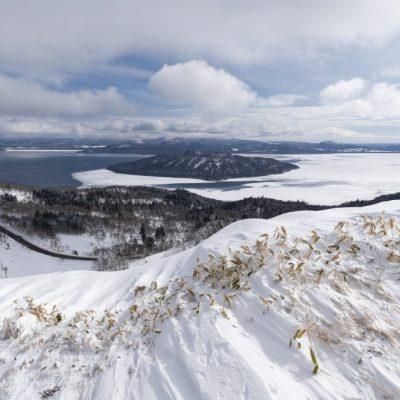 JAPAN / Hokkaido / Akan Mashu National Park / Lake Kussharo