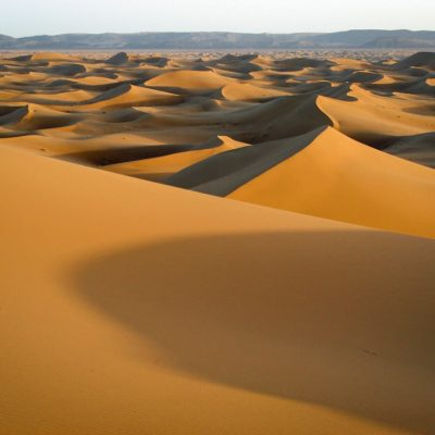 Endlos ertreckt sich das Dünenmeer