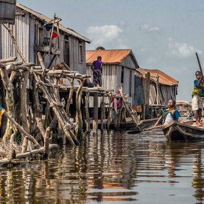 Togo - Benin, Ganvie (Foto: Anton Schmoll)