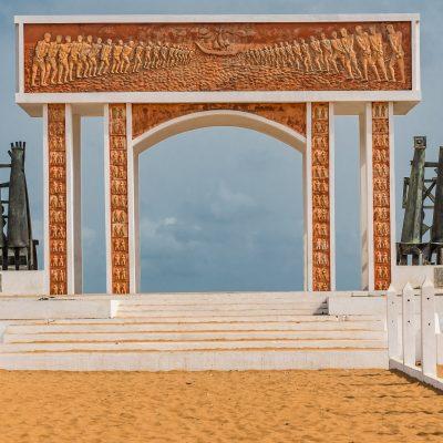 Togo - Benin, Sklavendenkmal (Foto: Anton Schmoll)