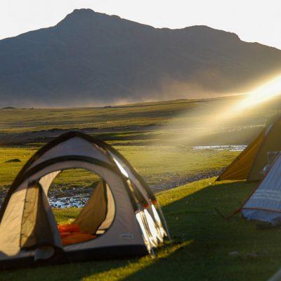 Mongolei, Zeltlager (Foto: Herbert Nekam)