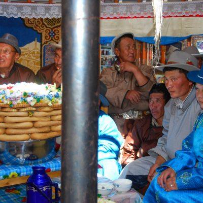 Mongolei - im Ger (Foto: Herbert Nekam)