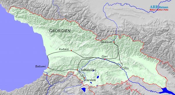 Route ARR Georgien_2021