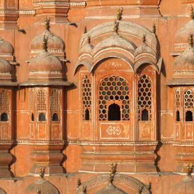 Indien, Jaipur, Hawa-Mahal (Foto: Bernhard Brenner)