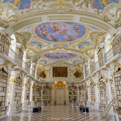 Admont, Stiftsbibliothek (Foto: Rainer Skrovny, ARR Reisen)